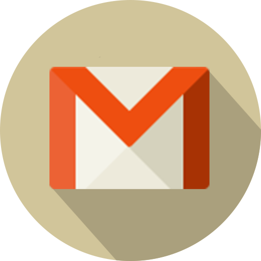 Circle, Email, Gmail, Logo, Mail, Material Icon