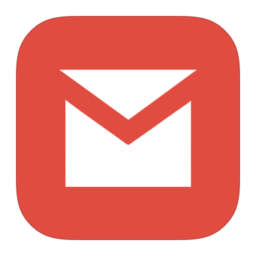 Gmail, Google, Flurry Icon