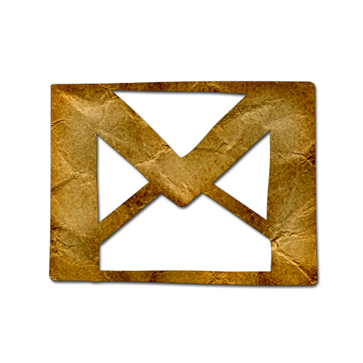 Gmail Icon Crumpled Paper Icon Sets Icon Ninja