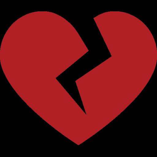 Broken Heart Emoji For Facebook, Email Sms Id Emoji
