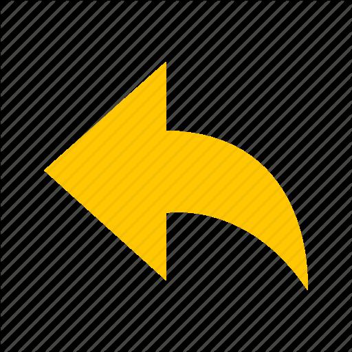 Arrow, Direction, Go Back, Send Button Icon
