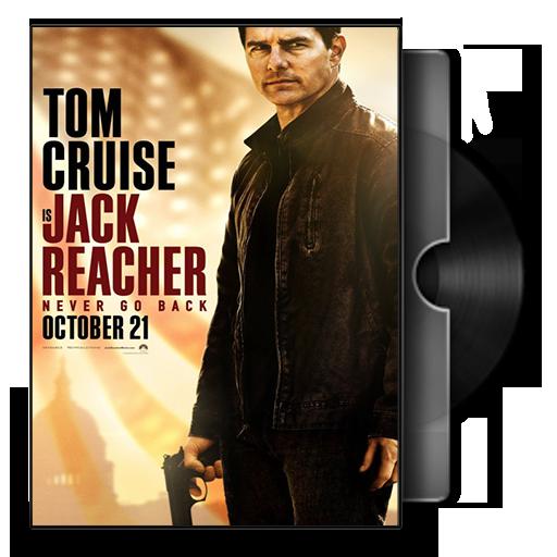 Jack Reacher Never Go Back Folder Icon