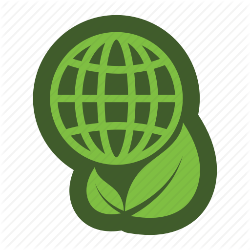 Globe, Go, Green, Icon, Leaf Icon