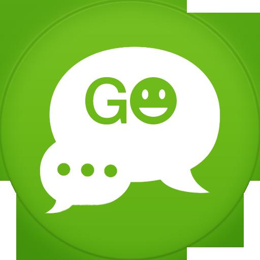 Go Sms Icon Circle Addon Iconset