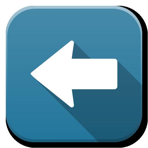 Apps Go Left Icon Flatwoken Iconset Alecive