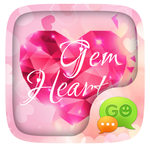 Free Go Sms Gem Heart Theme Apk Download From Moboplay