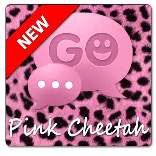 Go Sms Pink Cheetah Theme Appstore For Android