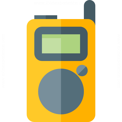 Iconexperience G Collection Walkie Talkie Icon