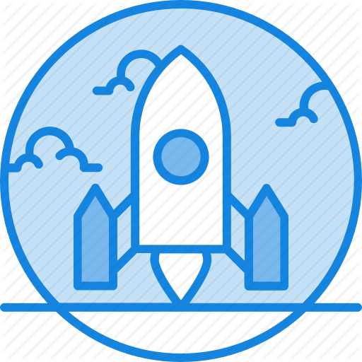 Application, Concept, Launch, Project, Ready To Go Icon, Rocket