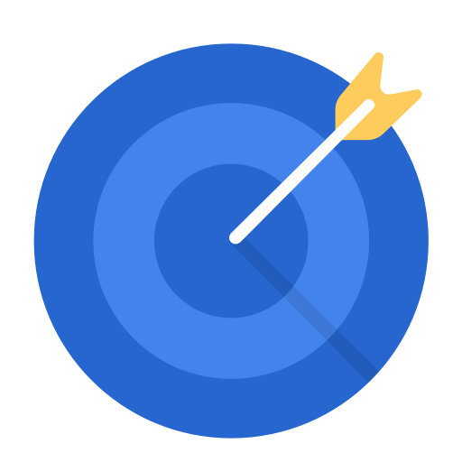 Aim, Business, Work, Target, Goal Icon