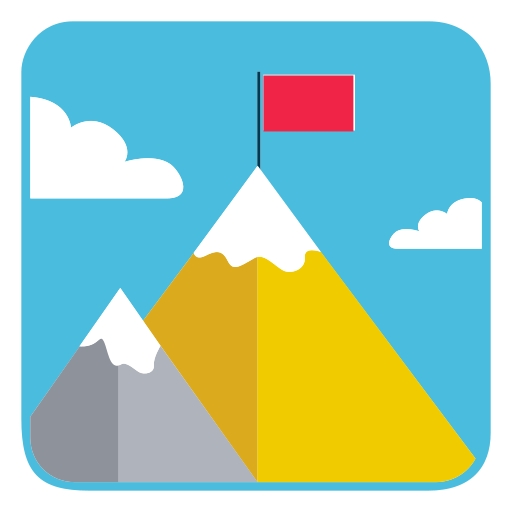 Mountains, Goal Icon Free Of Business Concept Icons