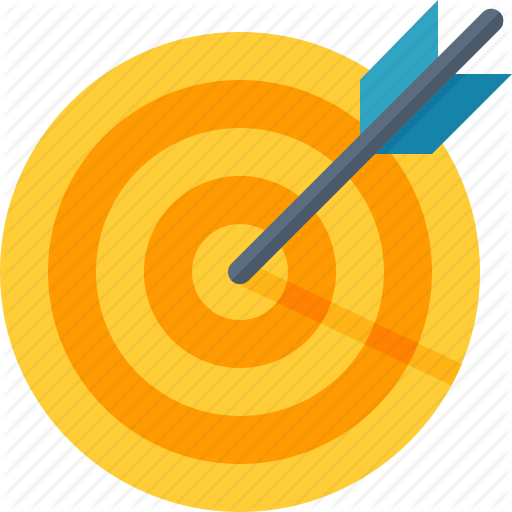 Business Goals, Dartboard, Success, Target Icon