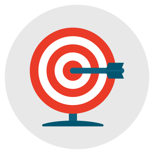 Target, Aim, Goal, Archery, Success Icon