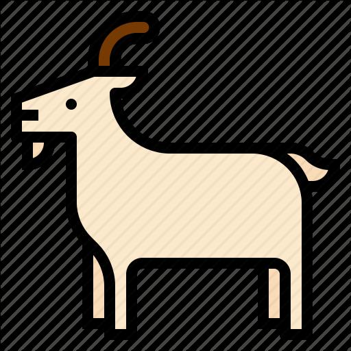 Animal, Goat Icon