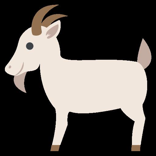 Goat Emoji Vector Icon Free Download Vector Logos Art Graphics