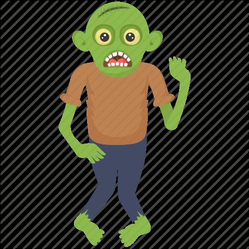 Goblin Monster, Green Monster, Halloween Character, Monster Shrek