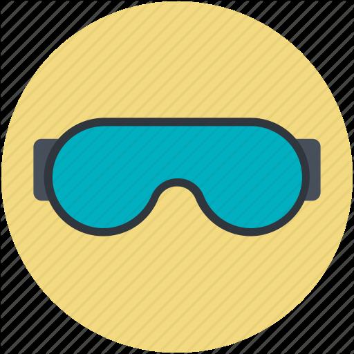 Glasses, Goggles, Safety Goggles, Ski Goggles, Swimming Goggles Icon