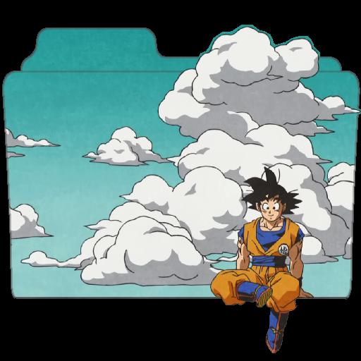 Goku Sit Folder Icon