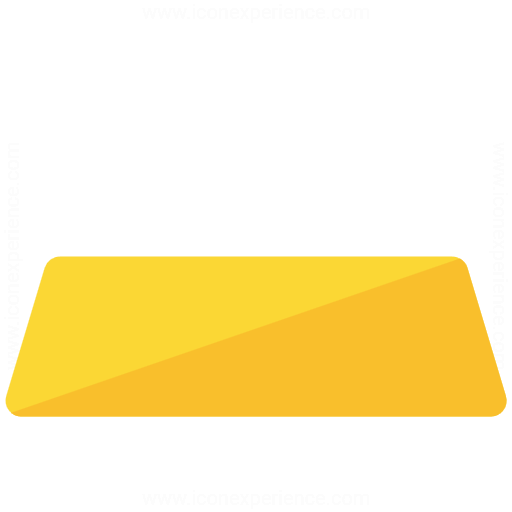 Iconexperience G Collection Gold Bar Icon