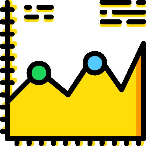 Seo And Analytics Gold Icon