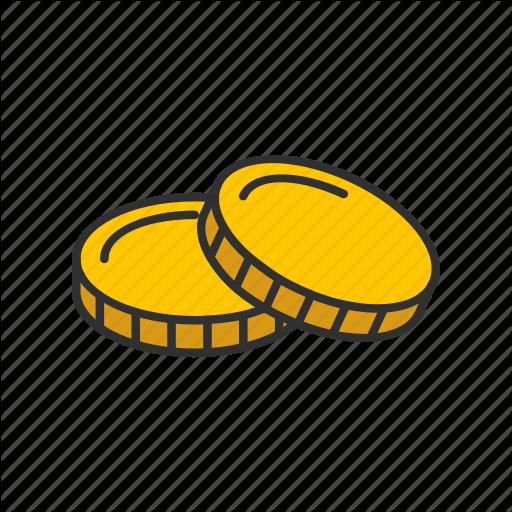 Coin, Coins, Gold Coin, Money Icon