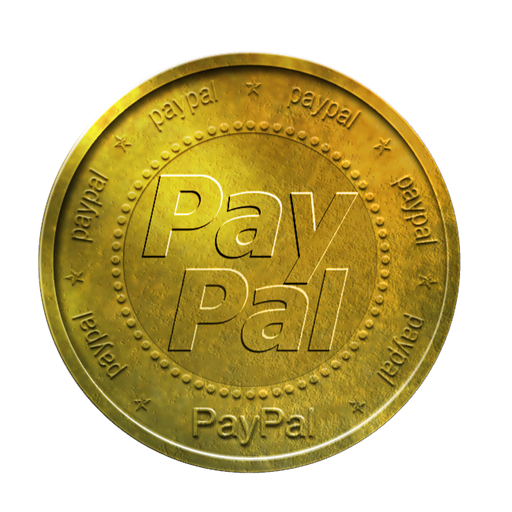 Paypal, Gold, Con