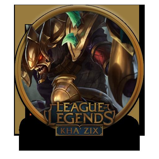 Khazix Guardian Of The Sands Icon League Of Legends Gold Border