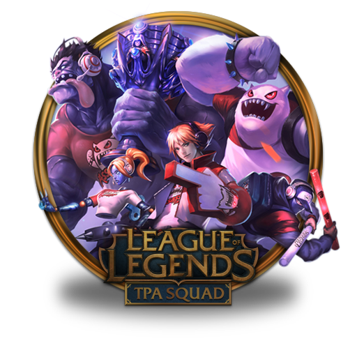 Tpa, Squad Icon Free Of League Of Legends Gold Border Icons