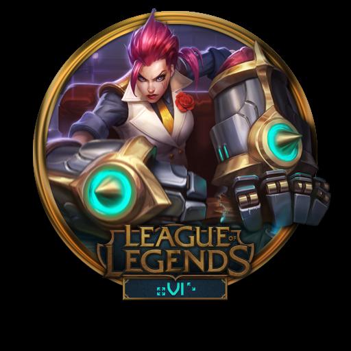 Vi, Debonair Icon Free Of League Of Legends Gold Border Icons