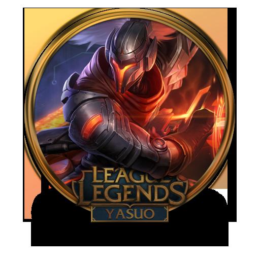 Yasuo Icon League Of Legends Gold Border Iconset