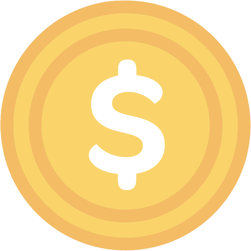 Coin, Facebook, Gold Icon With Png And Vector Format For Free