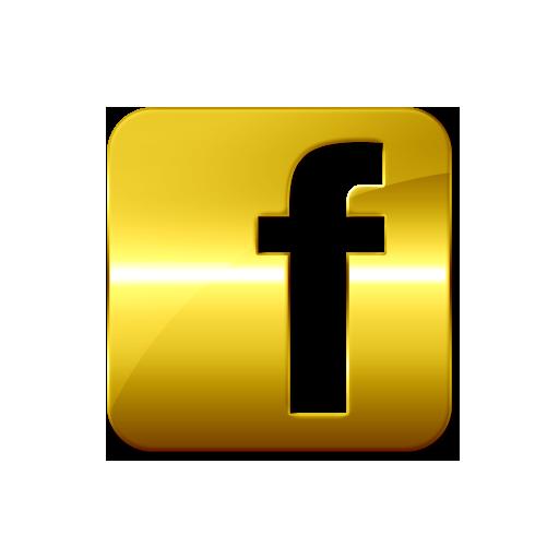 Facebook Gold Logo Png Images