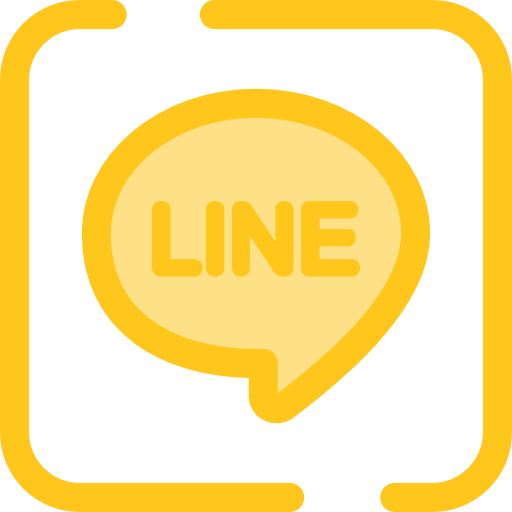 Communication Flat Gold Icon