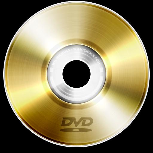 Dvd Gold Icon