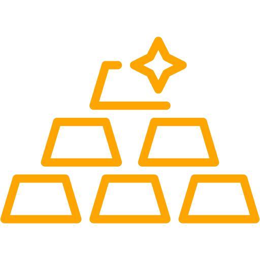 Orange Gold Icon
