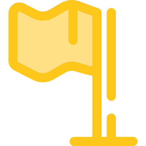 Startups And New Business Gold Icon
