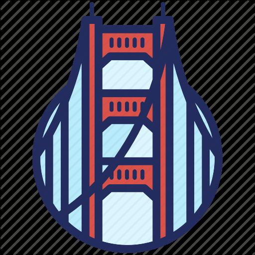 Golden Gate, Landmark, San Francisco, Usa Icon