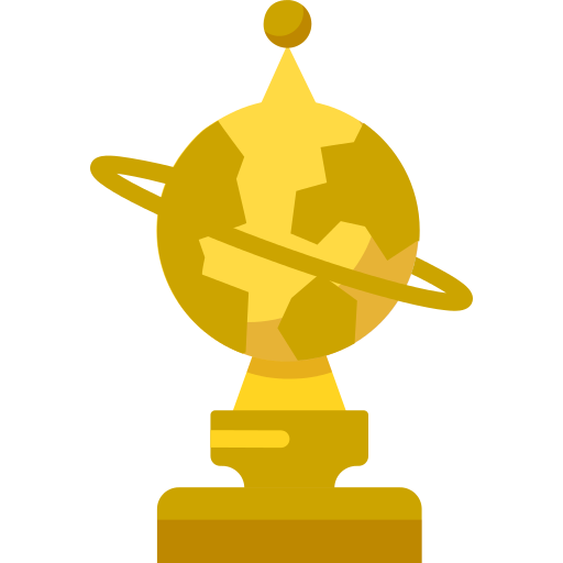 Golden Globe Png Icon
