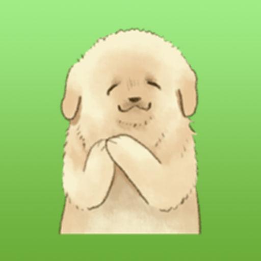 Golden Retriever Puppy Stickers
