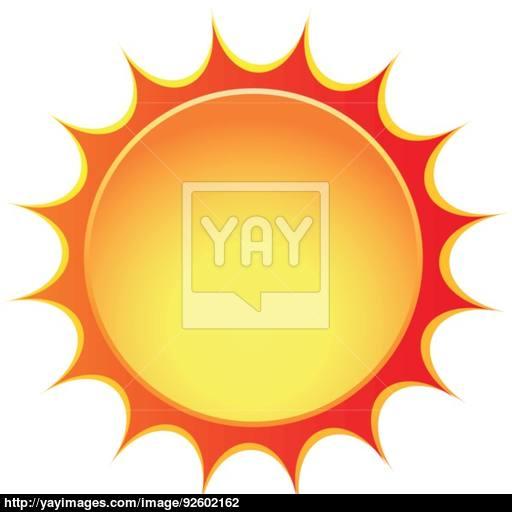 Vector Sun Icon Vector