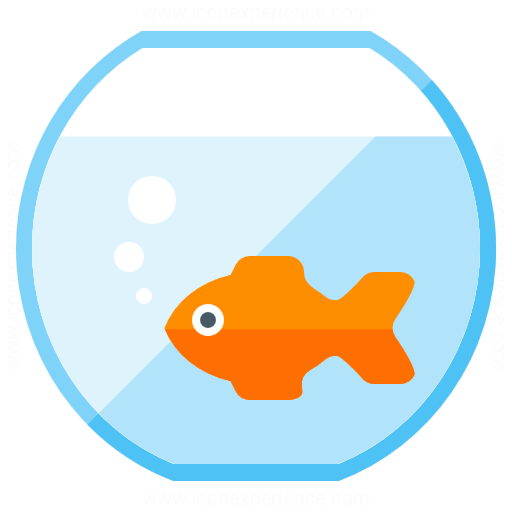 Iconexperience G Collection Fish Bowl Icon