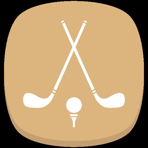 Golf Sticks Icon