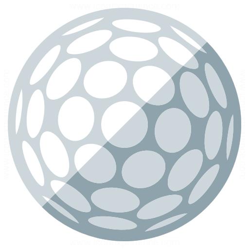 Iconexperience G Collection Golf Ball Icon