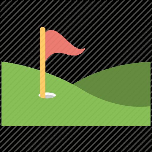Countryside Golf Course, Golf Club, Golf Course, Golf Flag, Golf