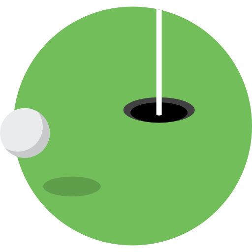 Golf Icon Color Sport Elements Freepik