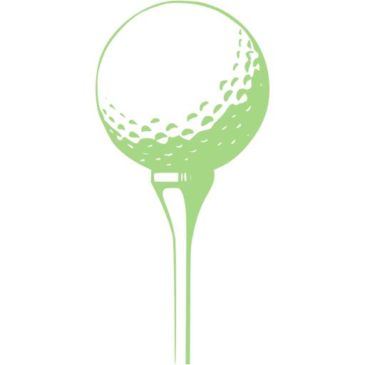 Guacamole Green Golf Icon
