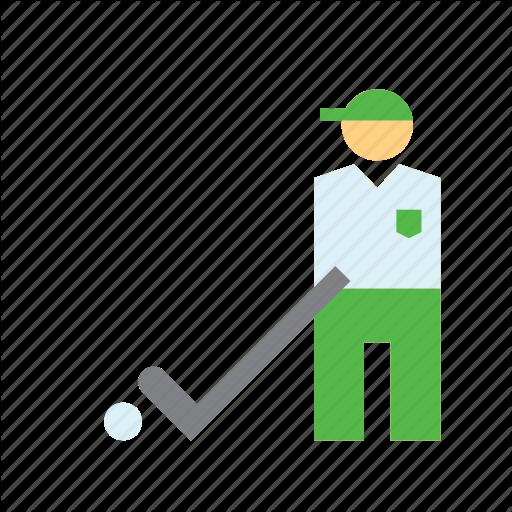 Golf, Golfer, People, Player, Sport, Sports, Sportsman Icon