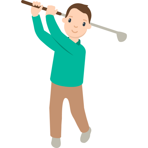Golfer Emoji For Facebook, Email Sms Id