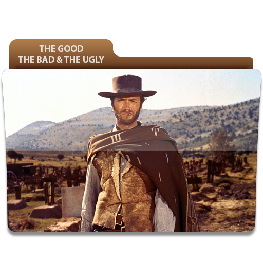 The Good The Bad And The Ugly Movie Folder Icon