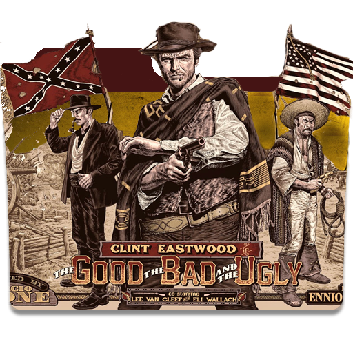 The Good The Bad And The Ungly Folder Icon